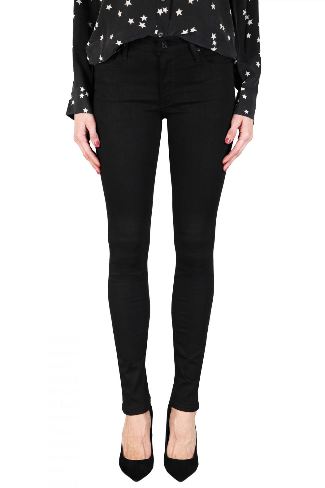 Black Orchid Denim Jude Mid Rise Skinny - Front Cropped Image