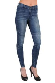 Black Orchid Denim Motorcycle Jegging Denim - Product Mini Image