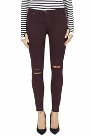 Black Orchid Denim Noah Ankle Fray Jeans - Front cropped