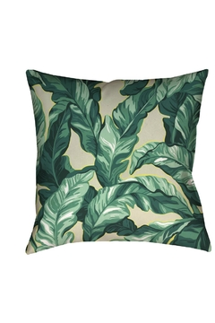 Black Rooster Decor  Palm Pillow - Alternate List Image