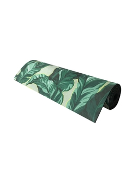 Black Rooster Decor  Palm Yoga Mat - Product List Image