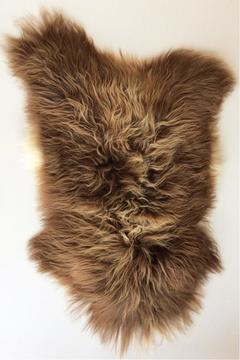 Black Sheep Brown Icelandic Sheepskin - Alternate List Image