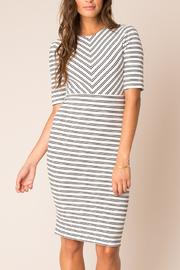Black Swan Adria Striped Dress - Product Mini Image