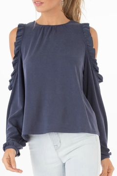 Black Swan Arden Ruffle Top - Product List Image
