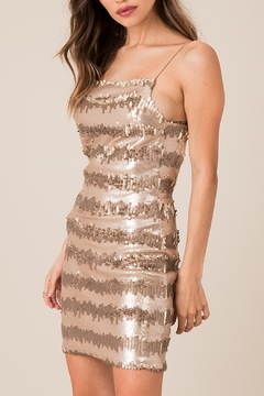 Black Swan Backless Seuent Dress - Product List Image