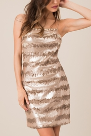 Black Swan Backless Seuent Dress - Back cropped