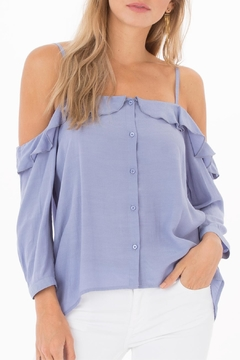 Shoptiques Product: Celine Button-Up Top