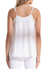 Black Swan Florence Tie Top - Front full body