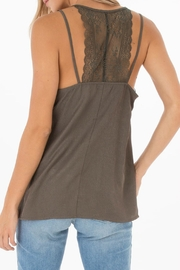 Black Swan Forest Green Tank - Product Mini Image