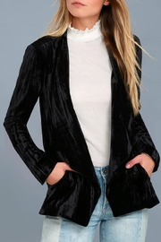 Black Swan Juliette Velvet Blazer - Product Mini Image
