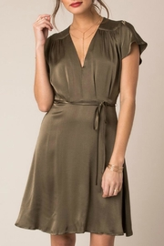 Black Swan Layla Satin Dress - Product Mini Image