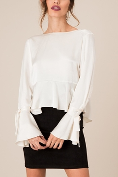 Shoptiques Product: Silky Cream Top