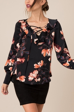 Shoptiques Product: Silky Floral Top