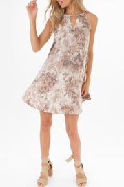 Black Swan Snake-Print Shift-Dress - Product Mini Image