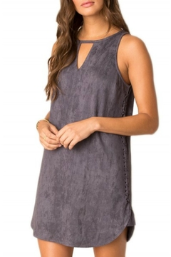 Shoptiques Product: Stassi Suede Dress