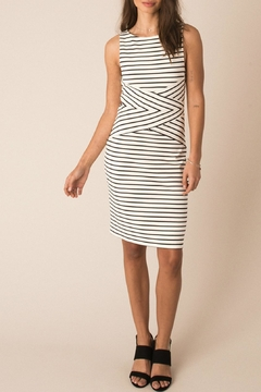 Black Swan Striped Lucia Dress - Product List Image