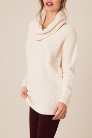 Black Swan Sweater With Scarf - Front full body