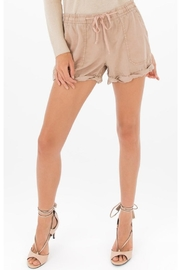 Black Swan Tan Tie Shorts - Product Mini Image