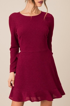 Black Swan Textured Holiday Dress - Product List Image
