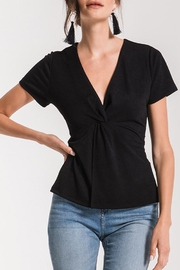 Black Swan Twist Blouse Top - Product Mini Image