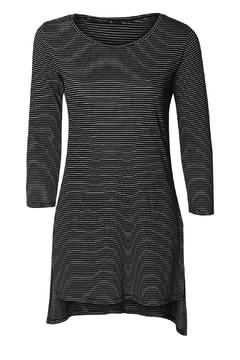 Black Tape 3/4 Sleeve Tunic - Alternate List Image