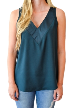 Black Tape Double V Camisole - Product List Image