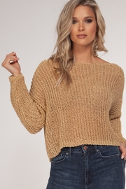 Black Tape Gold Knit Jumper - Product Mini Image