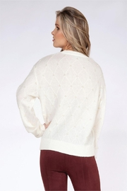 Black Tape Pearl Sweater - Front full body