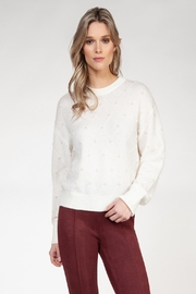 Black Tape Pearl Sweater - Front cropped