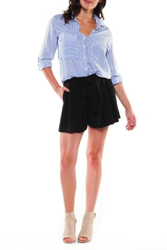 Shoptiques Product: Pleated Sash Short