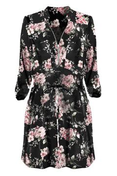 Black Tape Spring Blossom Dress - Alternate List Image