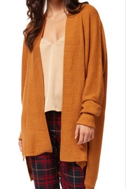 Black Tape Tawny Cardigan - Front cropped