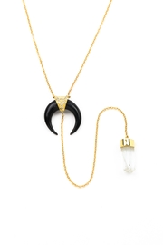 Jacquie Aiche Blackhorn Aquamarine Necklace - Product Mini Image