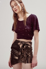 FOR LOVE & LEMONS Blackjack Mini Skirt - Product Mini Image