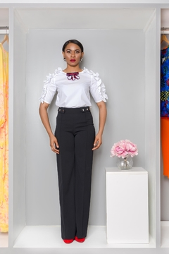 MODChic Couture Blackout Pleated Trouser - Product List Image
