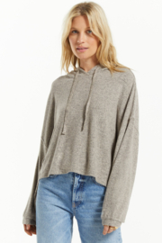 z supply Blaine Cozy Marled Hoodie - Front cropped