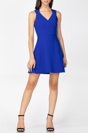 Adelyn Rae Blaine Woven Dress - Front cropped