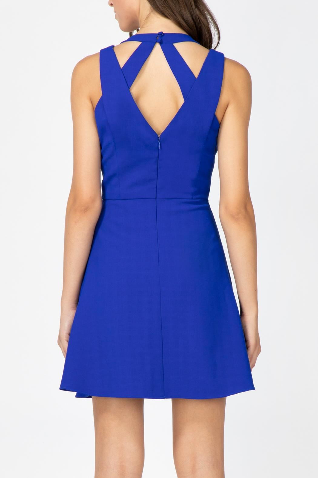 Adelyn Rae Blaine Woven Dress - Side Cropped Image