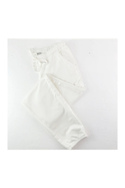 PJ Harlow BLAIR FRENCH TERRY SWEAT PANT WITH SATIN TRIM - Product Mini Image