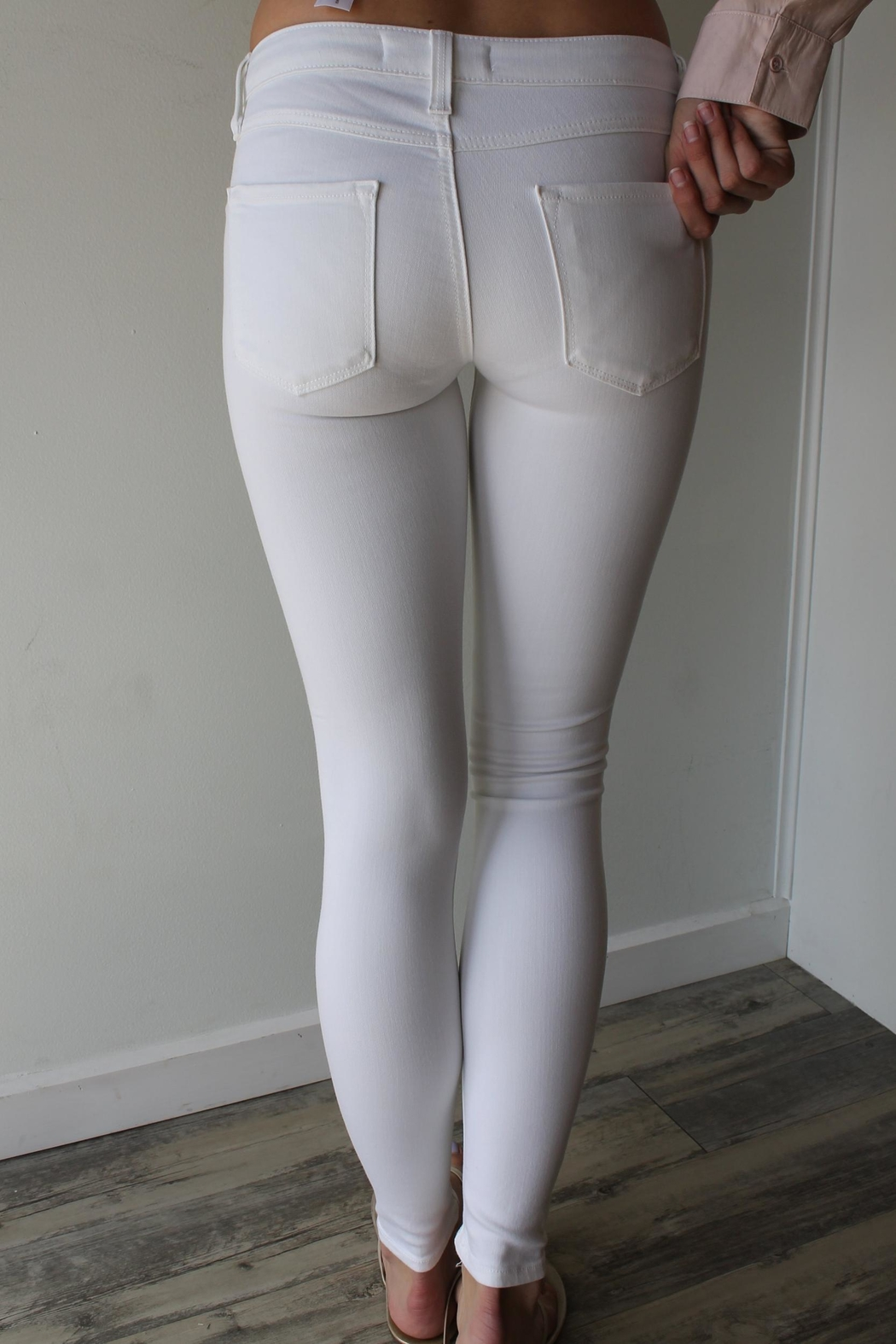 just black Blair Jeggings - Front Full Image