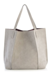 The Birds Nest BLAIR TOTE-STONE - Front cropped