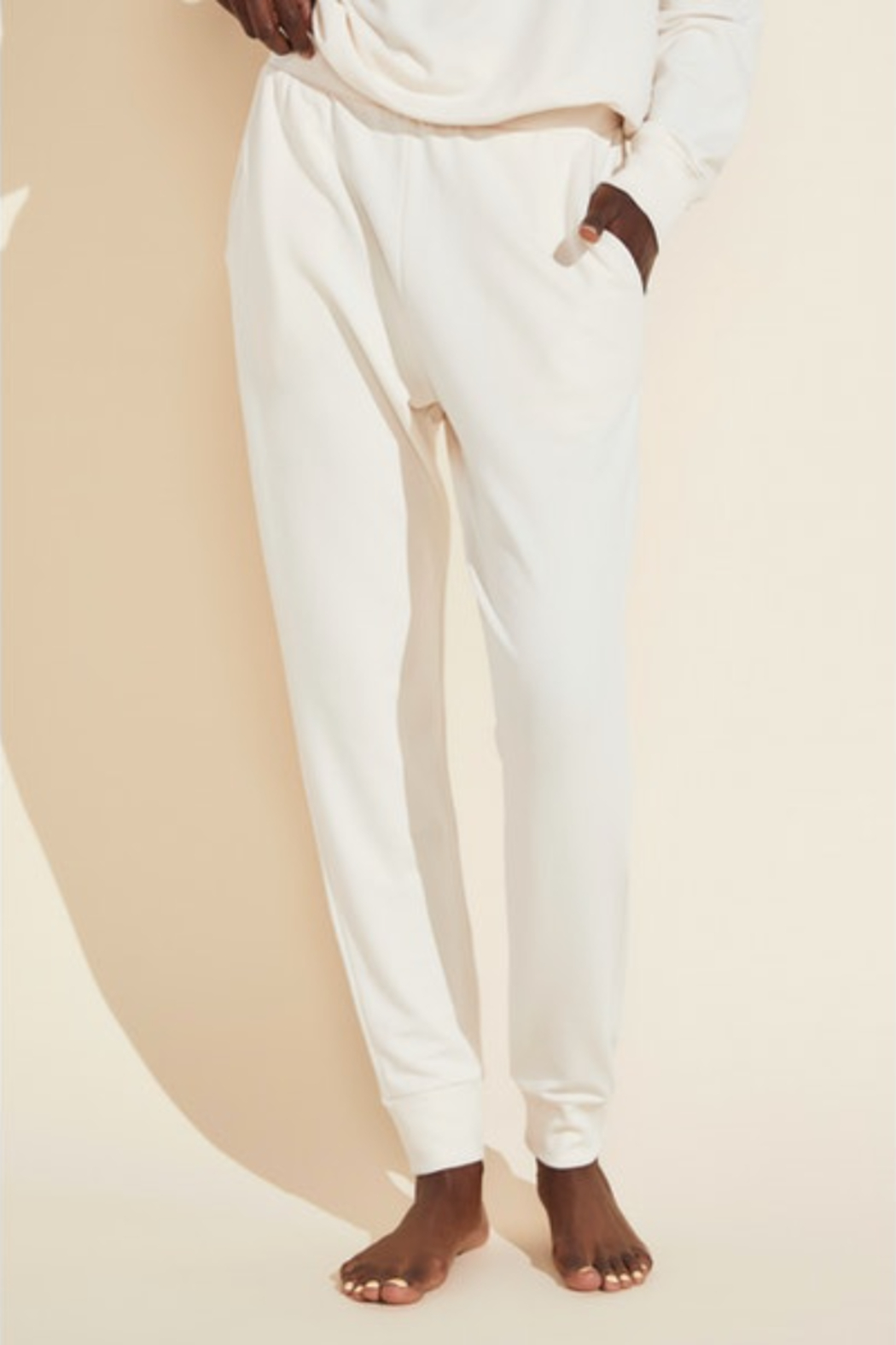Eberjey Intimates  Blair Trainer Pant - Front Cropped Image