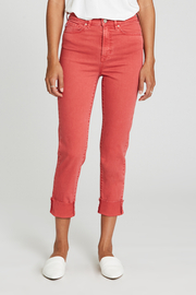 Dear john  Blaire Cuffed Slim Straight Capri - Product Mini Image