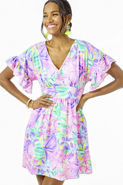 Lilly Pulitzer Blaire Fit And Flare Stretch Dress - Product Mini Image