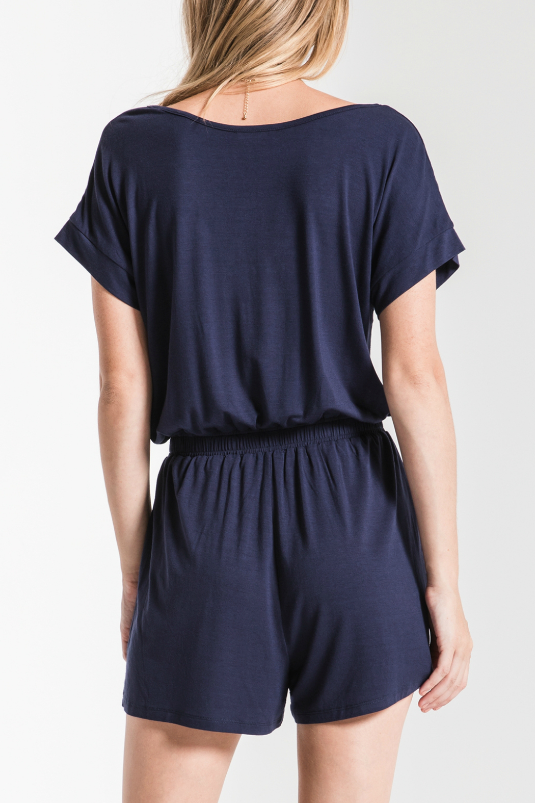 z supply Blaire Sleek Jersey Romper - Side Cropped Image