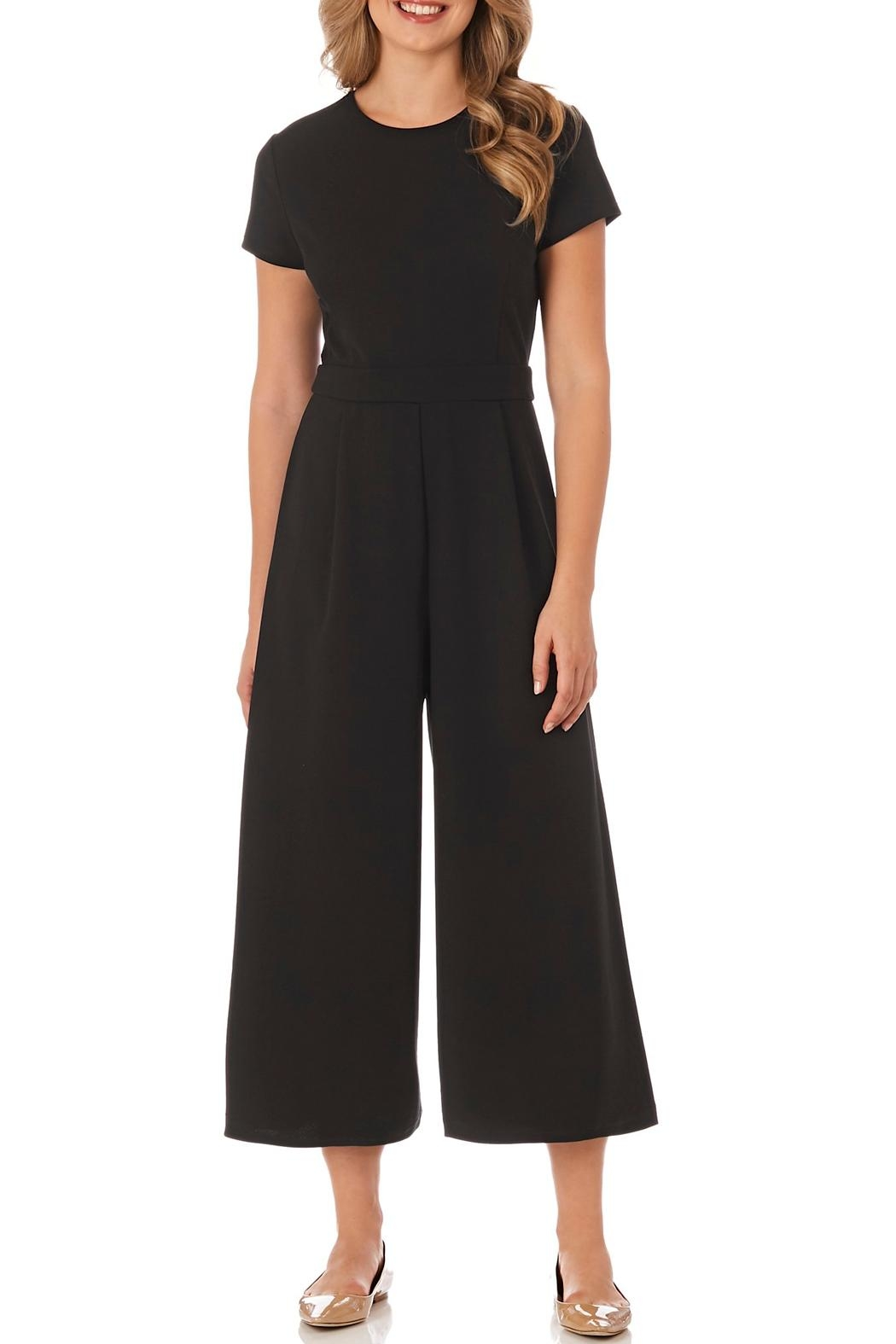 Jude Connally Blaire Stretch-Crepe Jumpsuit - Main Image