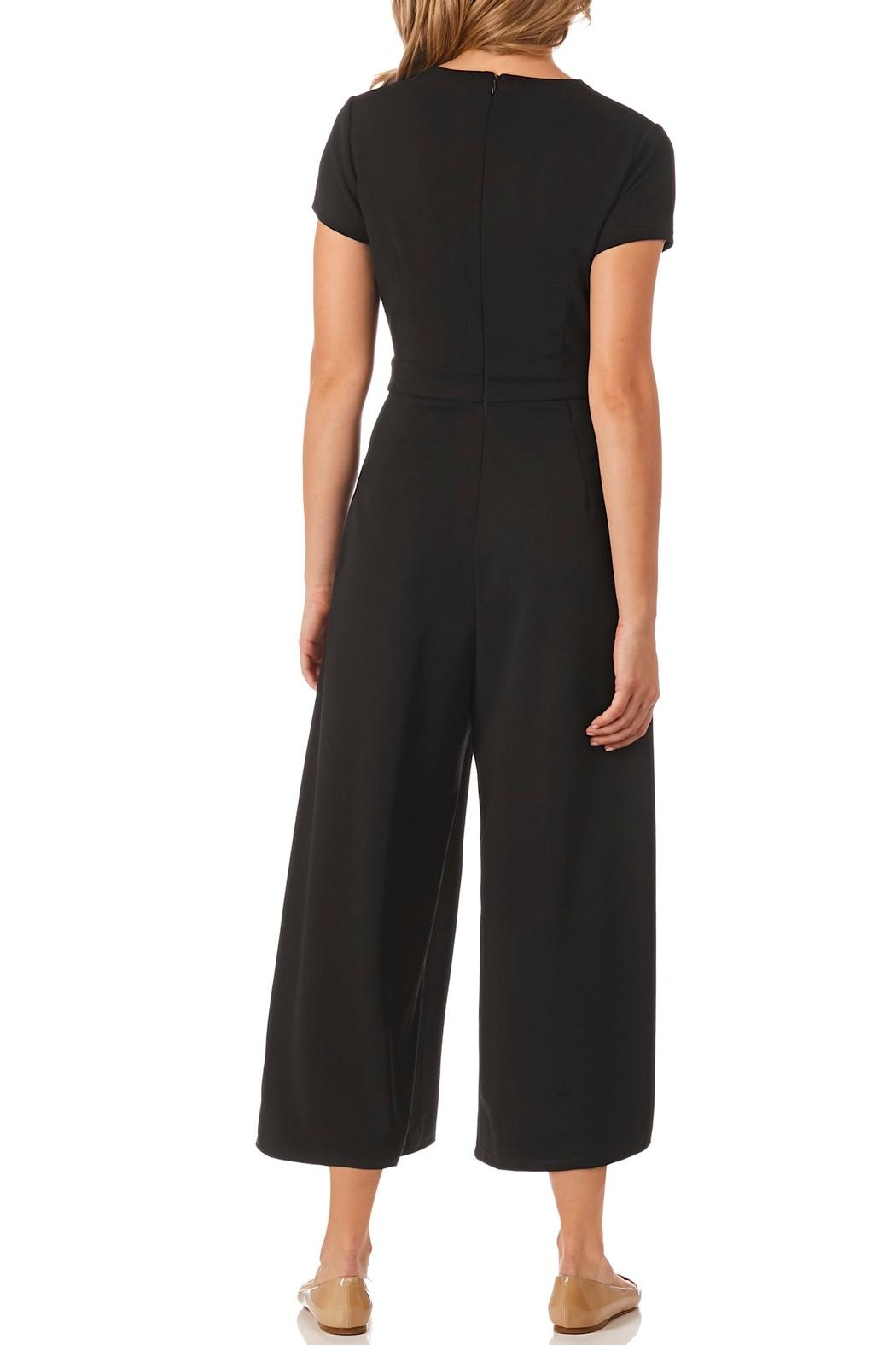 Jude Connally Blaire Stretch-Crepe Jumpsuit - Front Full Image