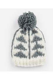 The Blueberry Hill Blake Gray Triangle Knit Hat - Product Mini Image