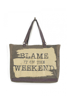 Shoptiques Product: Blame Weekend Large Tote