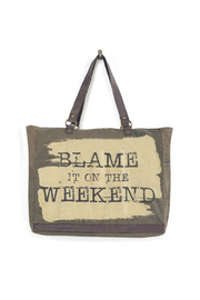 Mona B Blame Weekend Large Tote - Product Mini Image